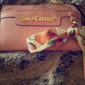 NWT Juicy Couture wallet Forbidden Fruit pink